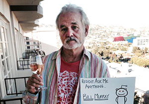 Ask Bill Murray Anything