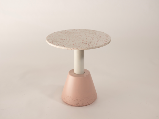 Iva Side Table by Nood Co. Winner of The Tait Award for Design Innovation supported by Tait. Image courtesy of Nood Co.