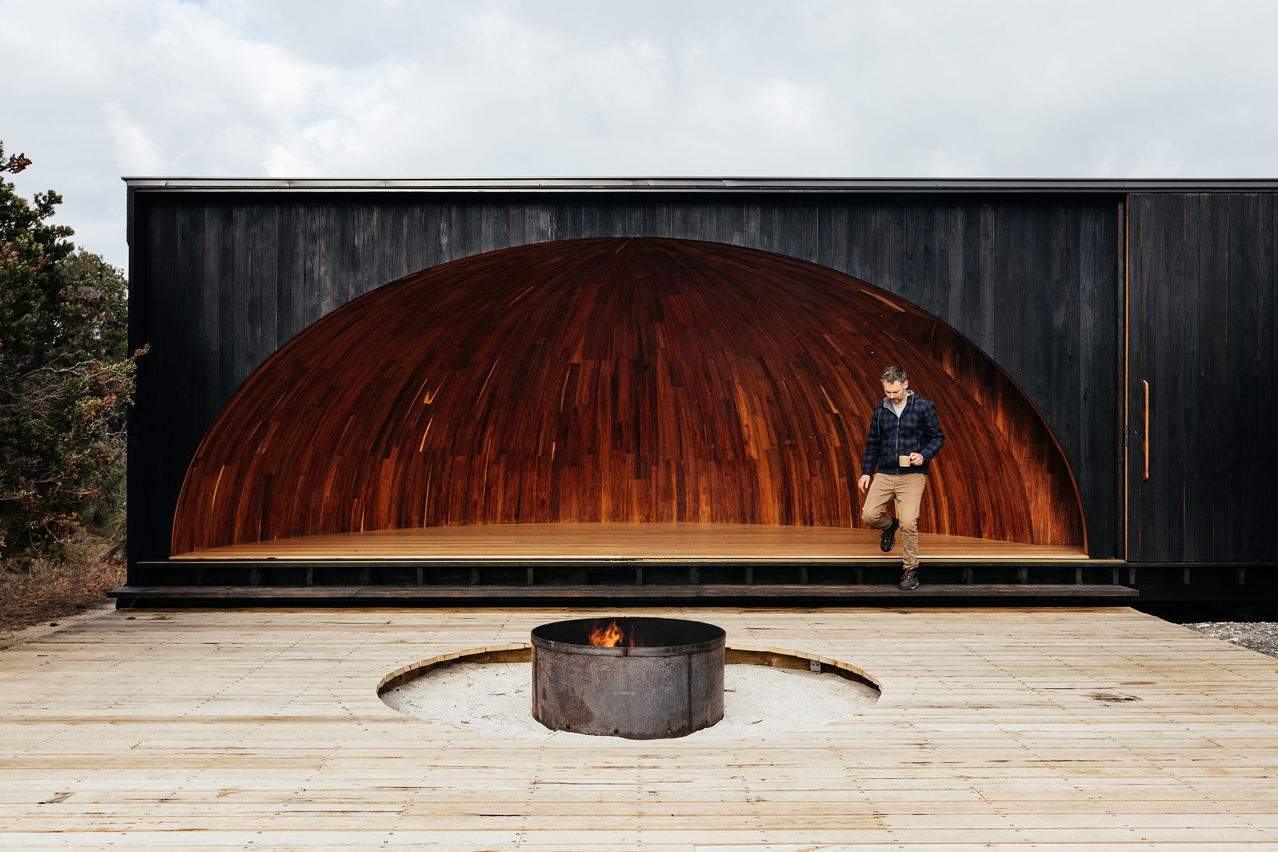 Wukalina Walk Standing Camp by Taylor + Hinds Architects