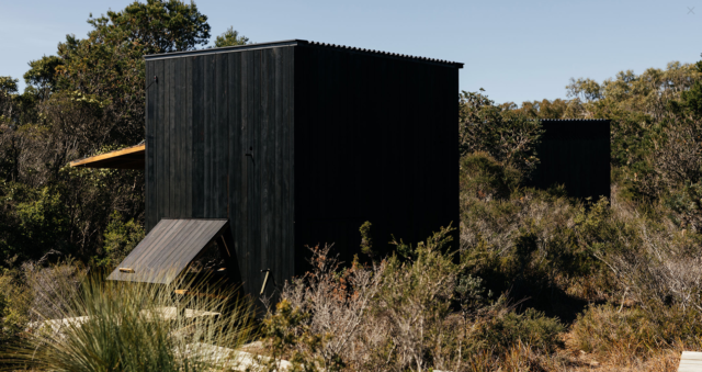 Wukalina Standing Camp by Taylor + Hinds Architects.