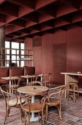 Bentwood Cafe by Ritz&Ghougassian. Image by Tom Blachford.