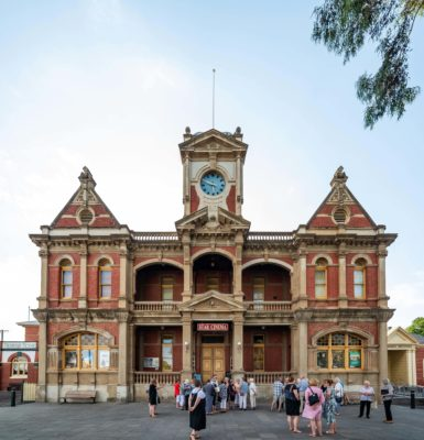 Star Cinema, former Eaglehawk Town Hall. Image courtesy of Star Cinema.