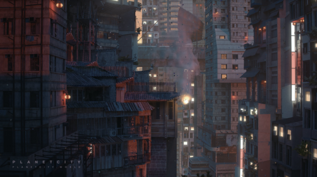 Lunar New Year   Still from Planet City
