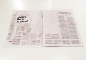 A Newspaper Without Photographs