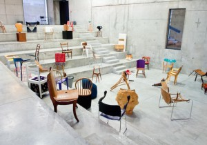 100 Chairs at RMIT Design Hub