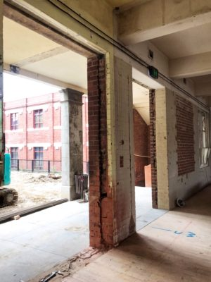 Ground floor tenancies at C.A.P will house galleries and aligned hospitality venues which will spill out into the open public courtyard.