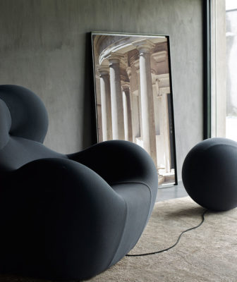 The iconic 'Up' Chair by Gaetano Pesce. Image courtesy of B&B Italia