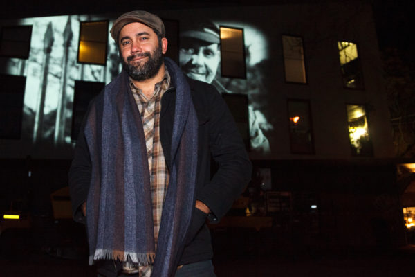 James Henry at the Gertude Street Projection Festival 2019