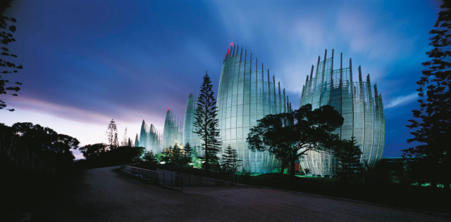 Tijabou Cultural Centre, Noumea by Renzo Piano