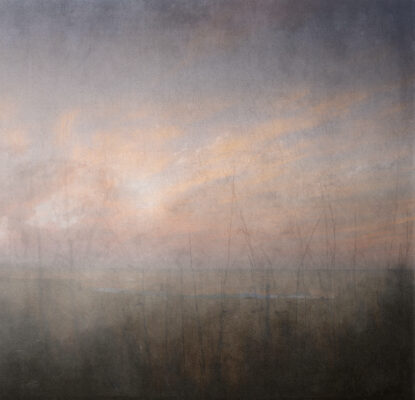 'The Brush of Remembering' by Sophie Szilagyi. 45cm x 44cm Archival pigmnet print.
